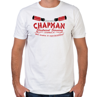 Chapman's Electrical Fitted T-Shirt