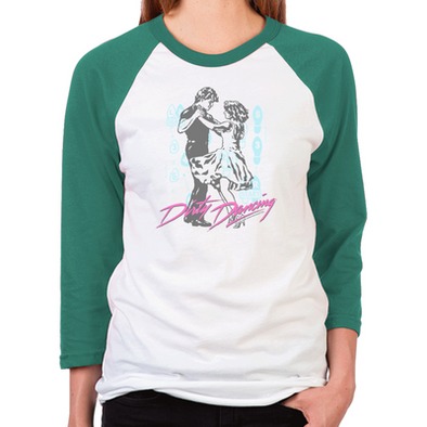 Dirty Dancing Dance Moves Women's  Baseball T-Shirt