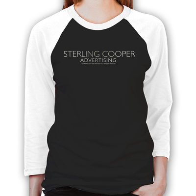 Mad Men Sterling Cooper Women's Baseball T-Shirt
