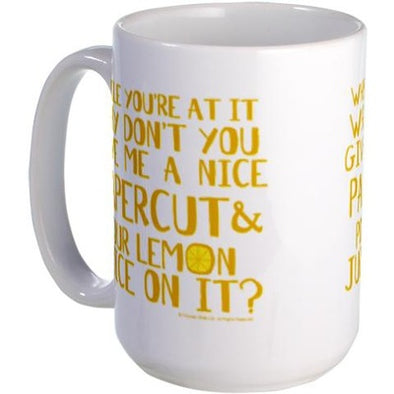 Lemon Juice Large Mug