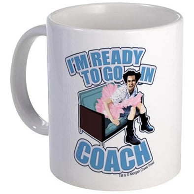 Ace Ventura Ready to Go in Coach Mug