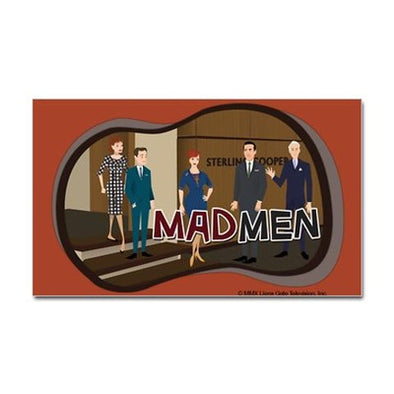 Sterling Cooper Mad Men Sticker