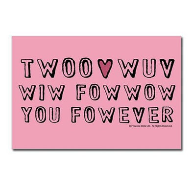 Twoo Wuv Postcards (package Of 10)
