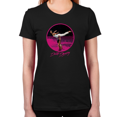 Dirty Dancing Swim Scene Women's Fitted T-Shirt