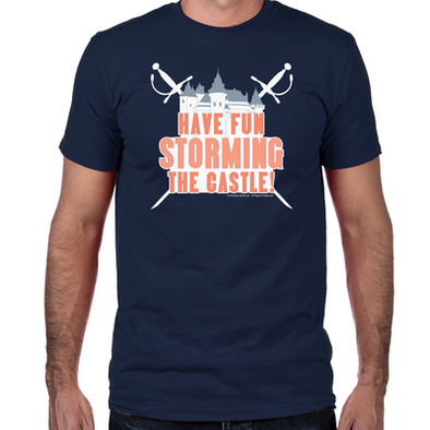 Storming the Castle Fitted T-Shirt