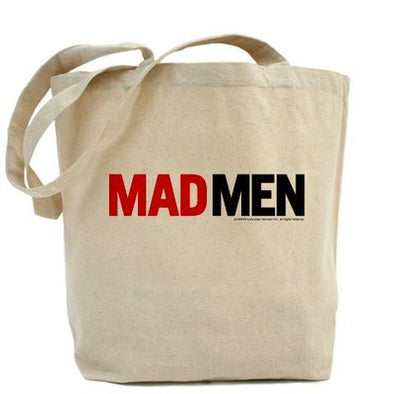 Mad Men Logo Tote Bag