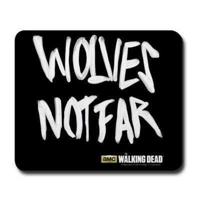 Wolves Not Far Mousepad