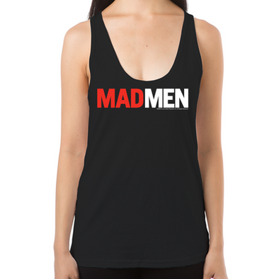 Mad Men Logo Women's Racerback Tank