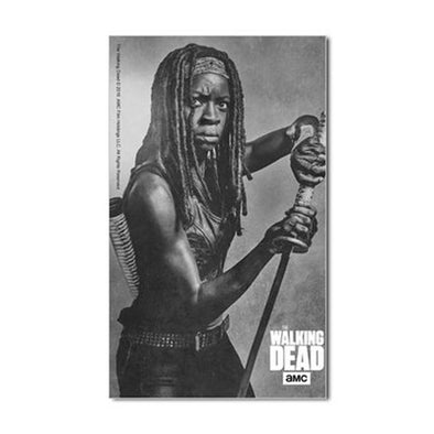 Michonne Silver Portrait Sticker