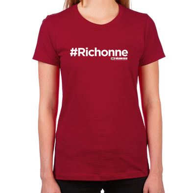 #Richonne Women's Fitted T-Shirt