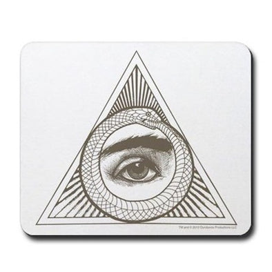 Eye Ouroboros Mousepad