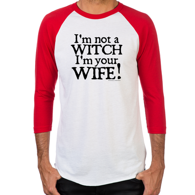 Witch Wife Men's Baseball T-Shirt