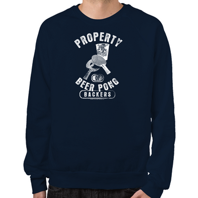 Beer Pong Blue Mountain State Sweatshirt