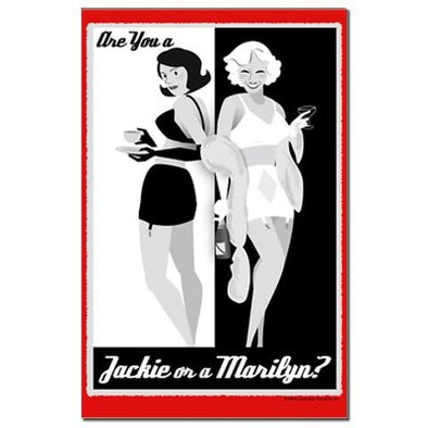 Jackie or Marilyn Mini Poster Print