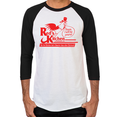 Red's Kitchen Men's Baseball T-Shirt