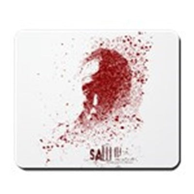 Saw Splatter Mousepad