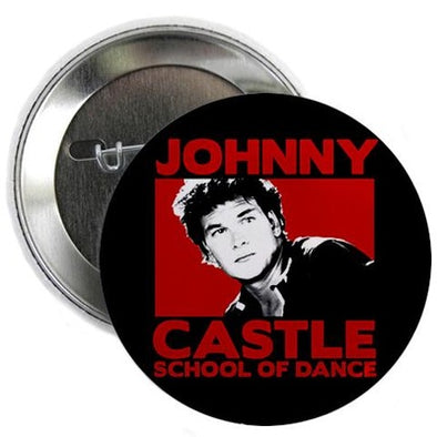 "Dirty Dancing Johnny Castle  2.25"" Button"