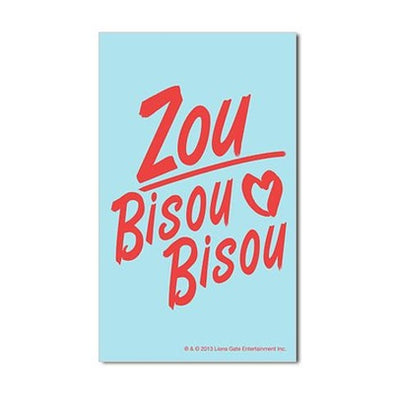 Zou Bisou Bisou Sticker