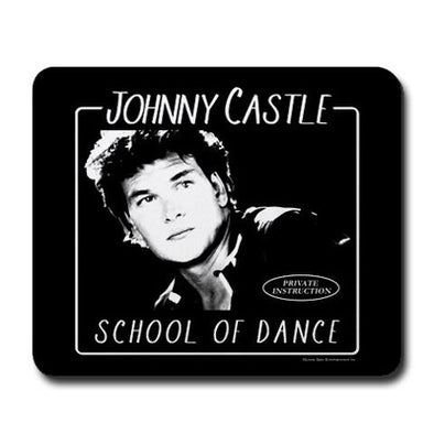 Dirty Dancing Johnny Castle School of Dance Mousepad