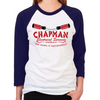 Chapman's Electrical Women's Baseball T-Shirt