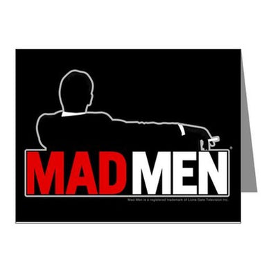 Mad Men Truth Lies Note Cards (Pk Of 10)