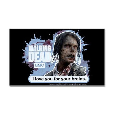 Love Your Brains Sticker