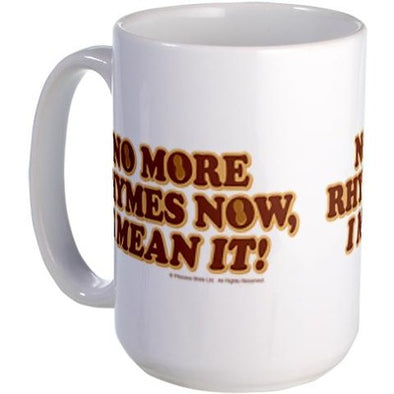 No More Rhymes Large Mug