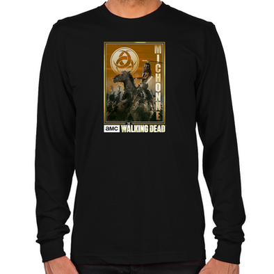 Michonne Zombie Slayer Long Sleeve T-Shirt