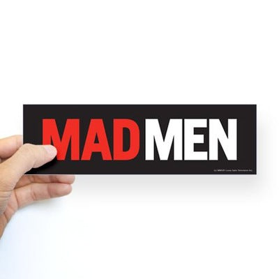 Mad Men Bumper Sticker