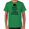 Keep Calm and Carry Iocane Men's T-shirt