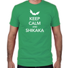 Keep Calm and Shikaka Fitted T-Shirt