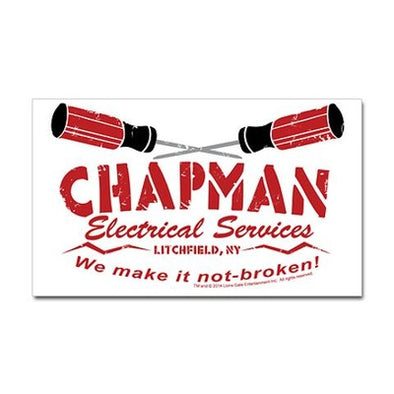 Chapman's Electrical Services Sticker
