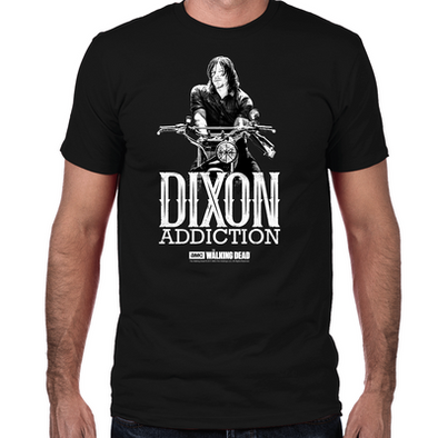Daryl Dixon Addiction Fitted T-Shirt