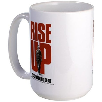 Rise Up Walking Dead Large Mug