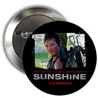 Daryl Dixon Watch Your Mouth Button