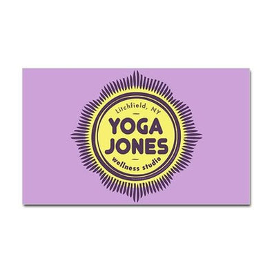 Yoga Jones Sticker