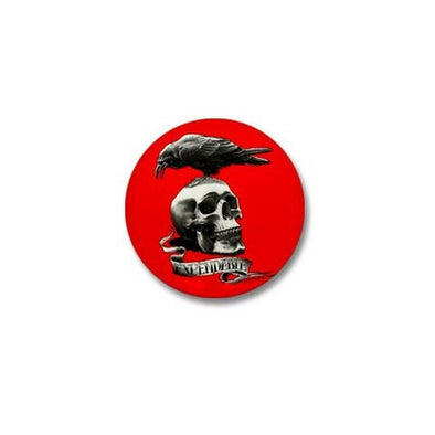 Skull Tattoo Mini Button