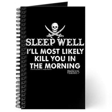 Sleep Well Journal