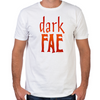 Lost Girl Dark Fae Fitted T-Shirt