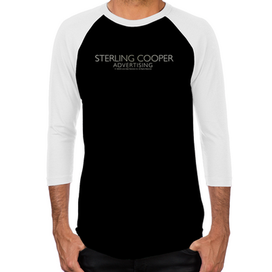 Mad Men Sterling Cooper Men's Baseball T-Shirt