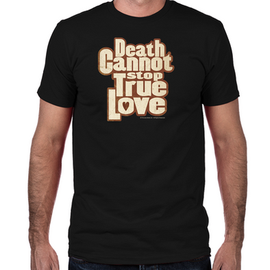 Death Cannot Stop True Love Fitted T-Shirt