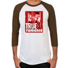 True Romance DVD Art Men's Baseball T-Shirt