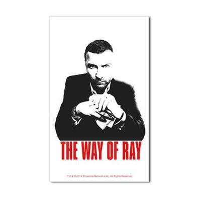 The Way of Ray Sticker