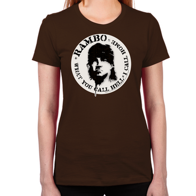 Call This Hell Rambo Women's T-Shirt