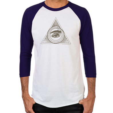 Eye Ouroboros Baseball T-Shirt