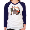 Joan Holloway Decolletage Women's Baseball T-Shirt