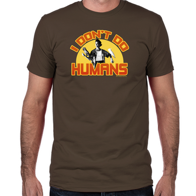 Ace Ventura I Don't Do Humans Fitted T-Shirt