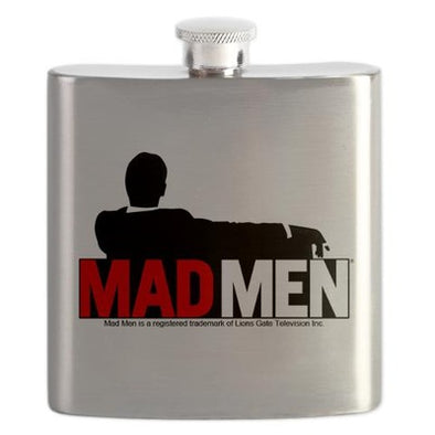 Mad Men Truth Lies Flask