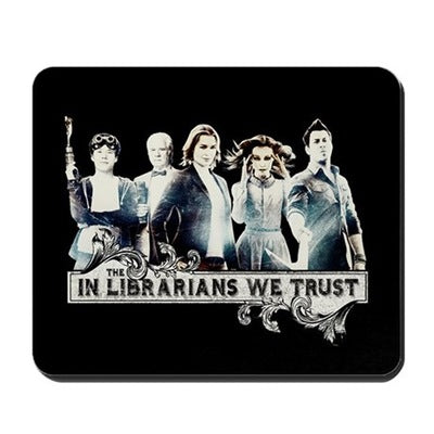 In The Librarians We Trust Mousepad
