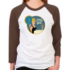 Mad Men Betty Draper Women's Baseball T-Shirt